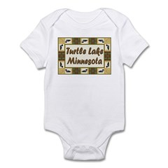 Turtle Lake Loon Infant Bodysuit