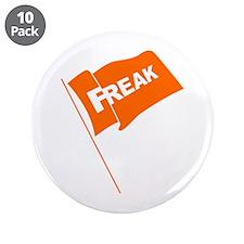 "Freak Flag 3.5"" Button (10 pack)"