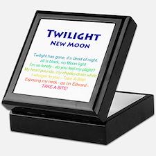 Twilight New Moon Movie Merch Keepsake Box