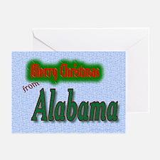 Alabama Christmas cards Greeting Cards (Pk of 10)