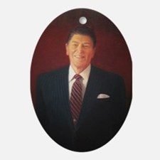 Ronald Reagan Christmas Ornament