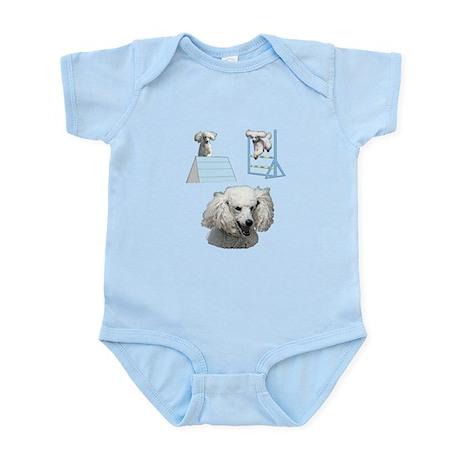Run Poodle Run Infant Bodysuit