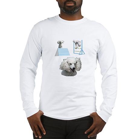 Run Poodle Run Long Sleeve T-Shirt