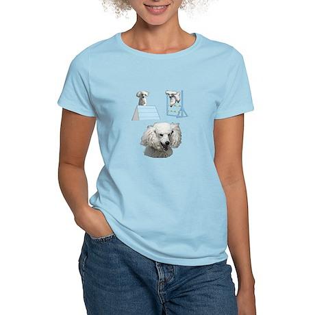 Run Poodle Run Women's Light T-Shirt