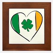Love Ireland Framed Tile