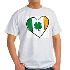 Love Ireland Ash Grey T-Shirt