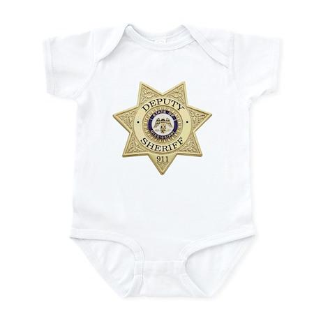 Mississippi Deputy Sheriff Infant Bodysuit
