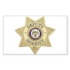 Mississippi Deputy Sheriff Rectangle Decal