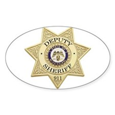 Mississippi Deputy Sheriff Oval Decal
