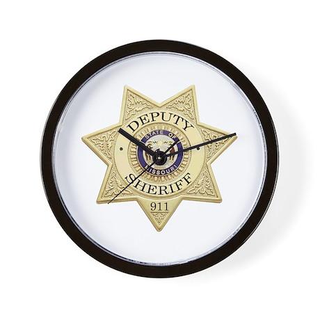 Missouri Deputy Sheriff Wall Clock