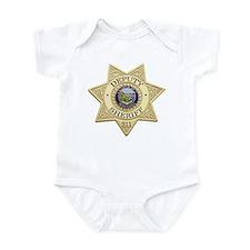 Montana Deputy Sheriff Infant Bodysuit