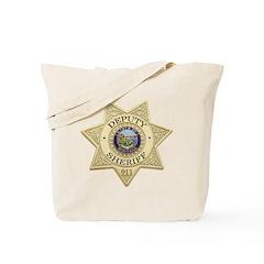 Montana Deputy Sheriff Tote Bag