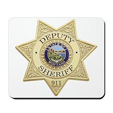 Montana Deputy Sheriff Mousepad
