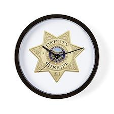 Montana Deputy Sheriff Wall Clock