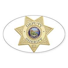 Montana Deputy Sheriff Oval Decal