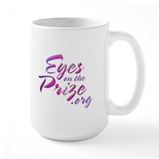 Large iris mug with EOTP logo