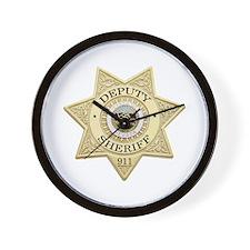 Nevada Deputy Sheriff Wall Clock