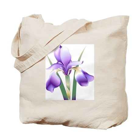 Tote Bag w/Iris and logo