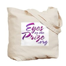 Tote Bag w/Iris and logo