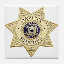 New York Deputy Sheriff Tile Coaster