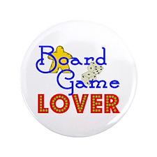 "Board Game Lover 3.5"" Button"