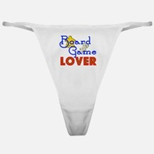 Board Game Lover Classic Thong
