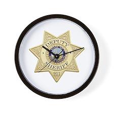 North Carolina Deputy Sheriff Wall Clock