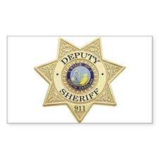 North Carolina Deputy Sheriff Rectangle Decal
