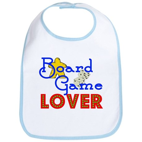 Board Game Lover Bib