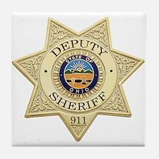 Ohio Deputy Sheriff Tile Coaster