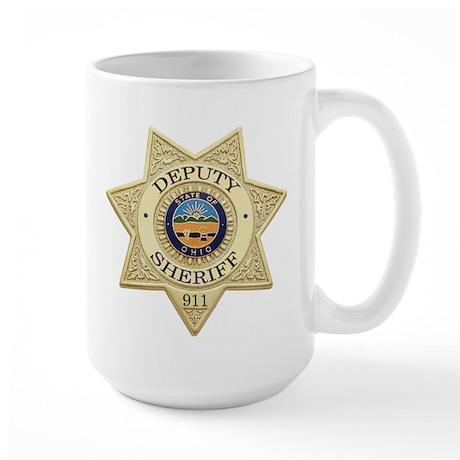 Ohio Deputy Sheriff Large Mug