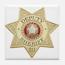Oklahoma Deputy Sheriff Tile Coaster