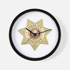 Oklahoma Deputy Sheriff Wall Clock