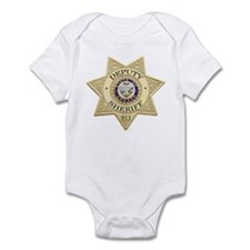 Oregon Deputy Sheriff Infant Bodysuit