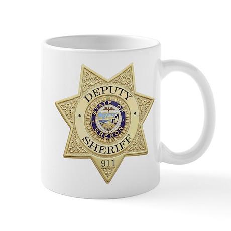 Oregon Deputy Sheriff Mug