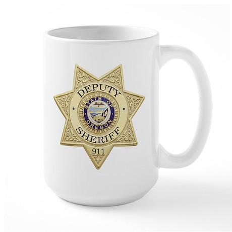Oregon Deputy Sheriff Large Mug