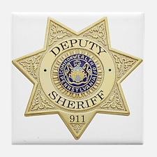 Pennsylvania Deputy Sheriff Tile Coaster