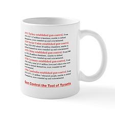Gun-Control the tool of Tyrants Mug