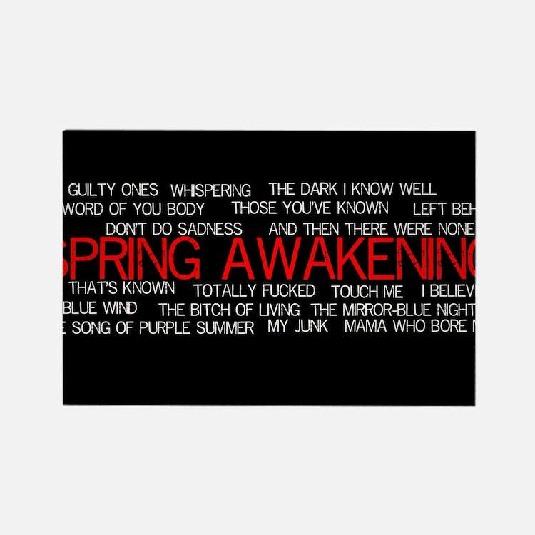 Cute Spring awakening Rectangle Magnet