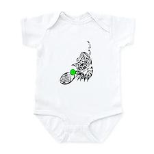 Tennis Tiger Infant Bodysuit