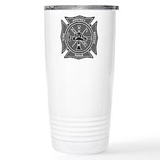 Firefighter Maltese Cross Travel Mug