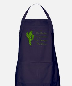 Harsh Conditions Strong Woman Apron (dark)