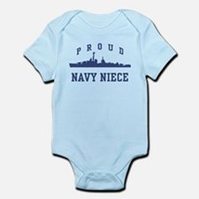 Proud Navy Niece Infant Bodysuit