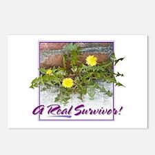 """""""Real Survivor"""" Postcards (Pkg of 8)"""