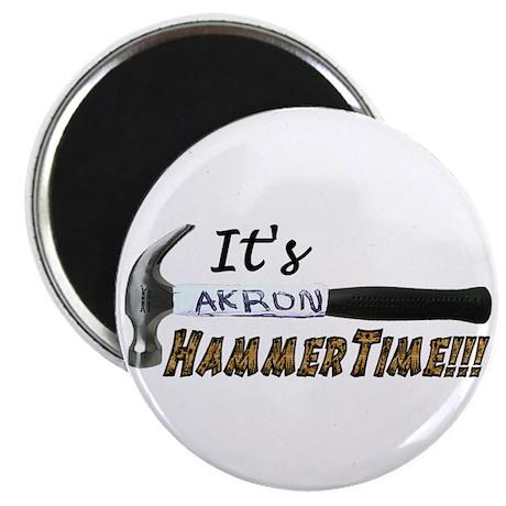 It's Akron HammerTime!!! Magnet