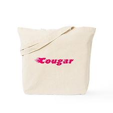 Hot Cougar Tote Bag