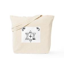 Unique Crop circle Tote Bag