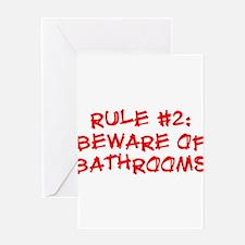 Rule #2 Greeting Card