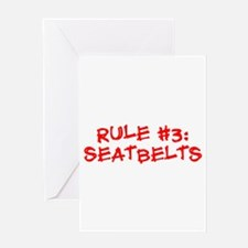 Rule #3 Greeting Card