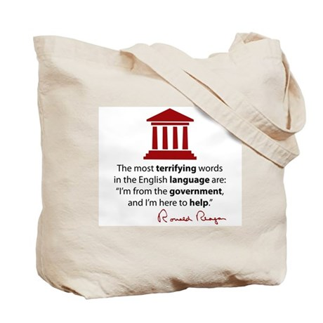 Reagan Quote Tote Bag